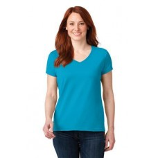 Anvil Ladies 100% Ring Spun Cotton V-Neck T-Shirt 88VL