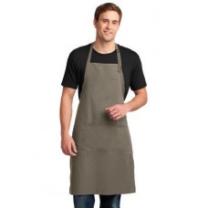Port Authority Easy Care Extra Long Bib Apron with Stain Release A700