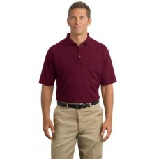CornerStone - Industrial Pocket Pique Polo CS402P