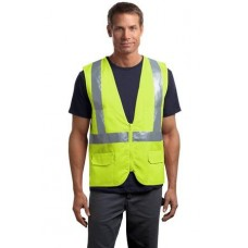 CornerStone - ANSI 107 Class 2 Mesh Back Safety Vest CSV405