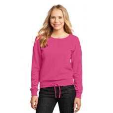 District - Juniors Core Fleece Wide Neck Pullover DT293