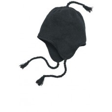 District - Knit Hat with Ear Flaps  DT604